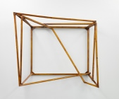 Untitled(Frame),ca.135x160x40cm, Wood, Lacquer, Max Frintrop 2012