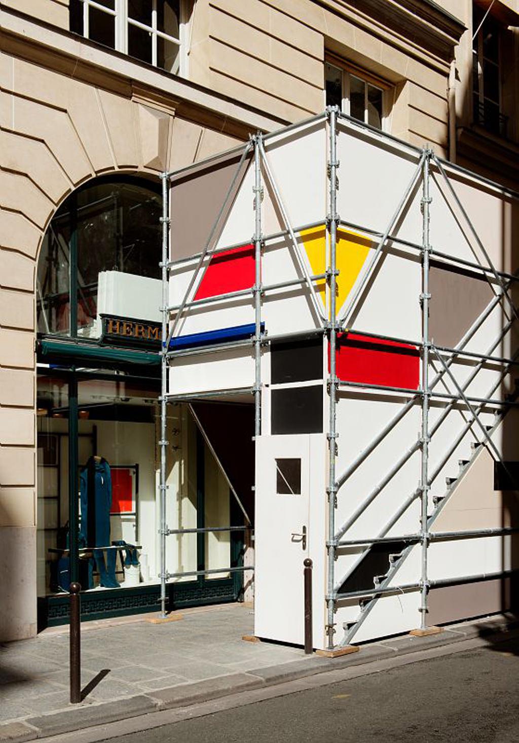 24 Faubourg Saint-Honore, Paris, automne 2015 Petite vitrine